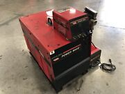 Lincoln Electric Power Wave 455 Welder W/ Cooler And Feeder