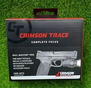 Crimson Trace Rail Master Pro Universal Green Laser And Tactical Light - Cmr-207g