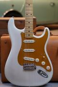 No Brand St Mary Kaye Model White Electric Guitar Used Free Shipping