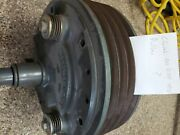 Lexion Variable Speed Feeder House Drive Clutch Pn 3557750 + Pulley