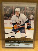 2014-15 Ud Series One Johan Sundstrom Young Guns Exclusives 068/100.....wow