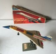 Alps Japan Battery Operated Super Sonic Concorde Working Order Boxed - C20