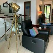 Antique Brown Stainless Steel Vintage Floor Lamp/searchlight Vintage Home Decor