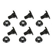 B1374593wn Disc Mower Blade Pack Of Six 6 Bolts And Nuts For Vicon