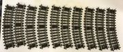 Lot Of 10 Pieces Curved 9 Lionel Trains Super O Gauge Track Free Shipping