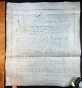 Rare Ny State Assembly Signed Document - 1847 Honor Fallen Mexican War Soldier