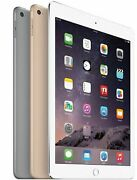 New Apple Ipad Air 2nd Gen.16gb 32gb 64gb 128gb Wi-fi 9.7in Gray Silver Gold