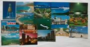 Lot Of 18 // 80and039s Vintage Postcards From Hawaii And Aloha Hawaiian Kids Booklet