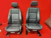 ⭐ Bmw E88 128 135 Convertible Front Right And Left Heated Sport Seat Set Oem