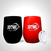 2 Sets 12oz Stainless Steel Wine Cup W/lid Vacuum Insulated Double Wall Tumblers