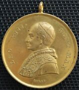 Medal Vatican And States Papal Leo Xiii Bridge Max