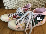 Harajuku Lover High Top Canvas Print Tennis Shoes Sneakers Us 9 Womenandrsquos Love Bug