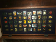 Franklin Mint Automobile 50 Auto Emblems Ingots Sterling And Mintage Only 4954- Fo