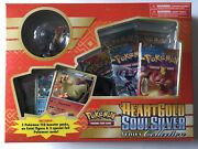 Pokemon Hgss Series Collection Box Factory Sealed Heartgold Soul Silver Boosters