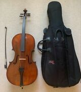 Beautiful Andreas Eastman Vc305 3/4 Cello W/ Bow And Soft Shell Case