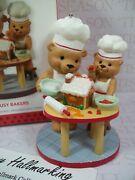 Hallmark 2013 Busy Bakers Koc Exclusive Ornament Gingerbread House Bears