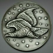 1963 Christian Gobrecht Eagle The Metal Art Co.999 Silver Round Medal 6.76 Ozt