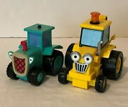 Bob The Builder Travis Talking Tractor And Scoop Moving Toy Truck 2001 Hasbro