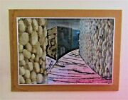 1-orig.hinter Glassbehind Glass Oil Painting-by Karl May-framed By Artist 5