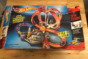 Vintage Hot Wheels Spin Storm Track Set Exclusive Toys Incomplete Parts Lot