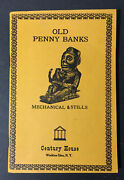 Old Penny Banks Mechanical And Stills Meyer And Freeman Cast Iron Collector 1979
