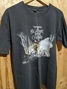 Vintage The Nightmare Before Christmas Graphic T Size Medium