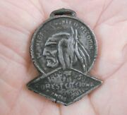 1855 - 1930 Forest City Diamond Jubilee And Winnebago County Homecoming Fob