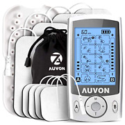 Dual Channel Tens Unit Muscle Stimulator Machine With 20 Modes W/ Electrode Pads