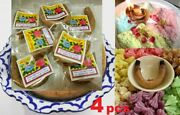 4x Candle Cooking Dessert Food Aroma Smoking Fragrant Scented Thai Traditional