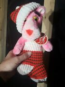 Rare Nwt 1980 Vintage Pink Panther Christmas Plush Great Condition 12 Tall