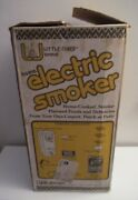Vintage Little Chief Electric Smoker Meat / Fish Smokehouse Nos In Box Usa Nice