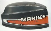 1980and039s Mariner 8 Hp 8m 2-stroke Outboard Hood Cover Cowling Shroud