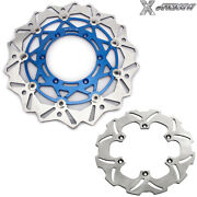 Rm125 Rm250 00-12 320mm Front Rear Brake Discs Rotors For Suzuki Drz400sm 05-21