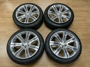 14-18 Range Rover Sport 21andrdquo Wheels Rims Set Polished With Tires