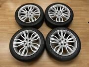 14-20 Range Rover Sport 21andrdquo Wheels Rim Set Factory 21x9.5 Oem Silver With Tires
