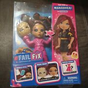 Brand New Failfix Take Over The Makeover Doll Loves.glam Surprise Fashion 2020