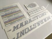 Marastoni Vintage Sticker Set Decal Mid To Late 60s Campagnolo