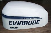 Evinrude 90 115 Hp Ocean Pro Ficht Outboard Hood Cover Cowling Assy 0285214