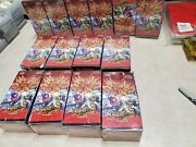 X14 Boxes Cardfight Vanguard The Destructive Roar Booster Box New And Sealed