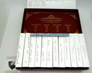 Icg Certified Ms-67 And Pr-69 2007 Us Mint Presidential Dollar Program Box G17