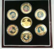 Cook Islands 2006 Wives Of Henry Viii 7 Coin Set Only 250 Sets Rare G53