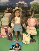 American Girl Nicki Doll Of The Year 2006 W Horse Jackson And Outfits
