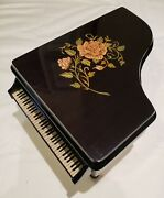 Reuge Grand Piano Music Box Playing 18 Note Reuge Movement-my Way