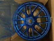 Only 2 Wheels Work Emotion M8r 18x9.5 +38mm    5x114.3 - Candy Apple Blue