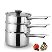 Double Boiler And Steam Pots For Melting Chocolate, Candle Making And More -