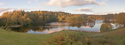 Lake District Photographic Print - Tarn Hows Autumnal Viewpoint