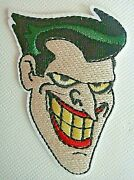 Batman Animated Series, The Joker Mark Hamill Embroidered Patch -new