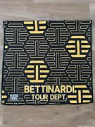 Bettinardi Tour Dept Exclusive Yellow/ Black Thive Towel Limited New