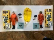 Two 2 40th Anniversary Gi Joe Air Force Pilots - One Is A Talking Sailor