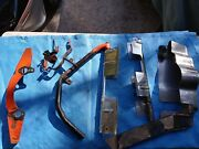 1956 - 1962 Chevy Corvette Misc Ignition Shielding Road Draft Tube And Parts